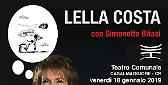 Teatro 'Mafalda siamo noi', Lella Costa al Comunale