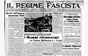 Mussolini elogia Roberto Farinacci e il suo ''Regime Fascista''