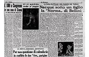"""La """"Norma"""" di Bellini nacque a Casalbuttano sotto un tiglio"""