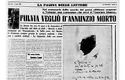 Una cremonese servì Gabriele D'Annunzio