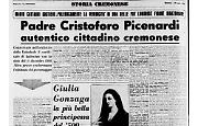"""Padre Cristoforo de """"I Promessi Sposi"""" manzoniani fu un autentico cittadino cremonese"""