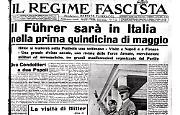 Hitler in Italia per una settimana a maggio
