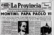 Giovanni Battista Montini diventa papa Paolo VI