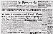 Si è spento a 61 anni Tazio Nuvolari, il leggendario 'Mantovano volante'