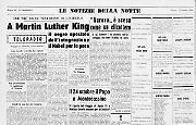 Il reverendo Martin Luther King è stato insignito del Premio Nobel per la pace