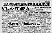 De Gasperi a Cremona
