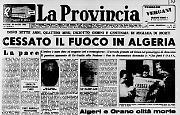Firmato l'armistizio tra Francia e Algeria