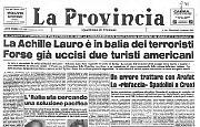 La Achille Lauro è in balìa dei terroristi