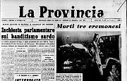 Che Guevara ucciso in battagliaIncidenti stradali: morti tre cremonesi