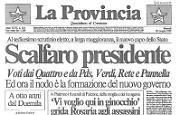 Scalfaro PresidenteI funerali di Falcone