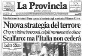 La notte del terroreBombe a Roma e Milano