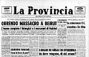 Orrendo massacro a Beirut