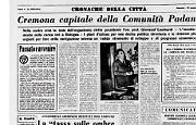 Cremona riconfermata Capitale del Po