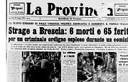 Strage in piazza della Loggia a Brescia: 6 morti e 65 feriti