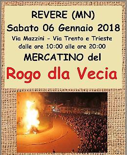 """Mercatino del """"Rogo dla Vecia"""""""