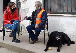 Per Giorgio e il cane Black aiuti in arrivo