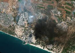 """Israele attacca, ma """"truppe non ancora a Gaza"""""""