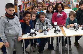 Corso di robotica educativa, gli automi dei baby ingegneri