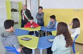 Inaugurata la prima aula 3.0 in una media della provincia