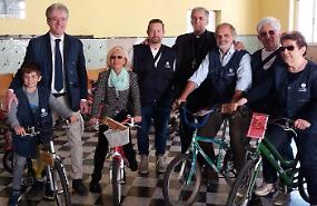 In dono 40 biciclette ai bambini terremotati