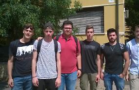 FOTO Maturità 2017, studenti di Crema dopo il quizzone