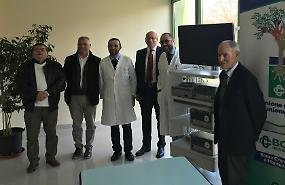 Nuova colonna laparoscopica donata all'ospedale