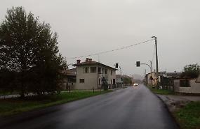 Semafori della provinciale, a Nosadello spenti tre su quattro