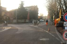 Ciclabile di via Treviglio, partiti i lavori