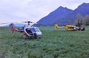 FOTO Disperso in montagna, le immagini della zona e del soccorso alpino