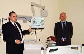 Ospedale, pazienti senza la tv