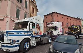 FOTO Un rombo per Mietta 2019, le immagini del camion raduno