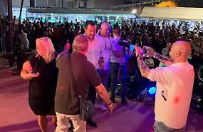 Matteo Salvini in diretta dalla festa della Lega di Soncino