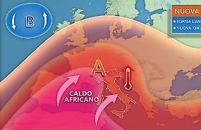 Torna l'anticiclone africano, nuova ondata di calore alle porte