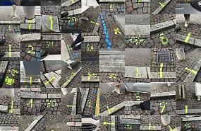 «Piazza rovinata e vialetti sporchi»