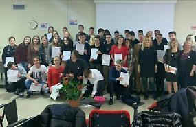 Studenti cremaschi e colleghi polacchi uniti per l'ambiente