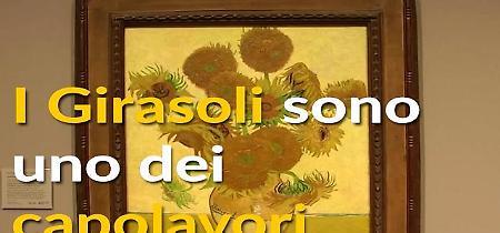 I girasoli di Van Gogh insieme grazie alla realtà virtuale