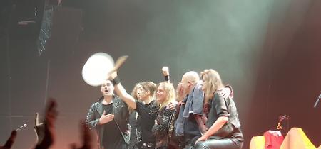 FOTO Helloween in concerto a Zurigo