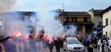 FOTO Il funerale di Emiliano Mondonico a Rivolta