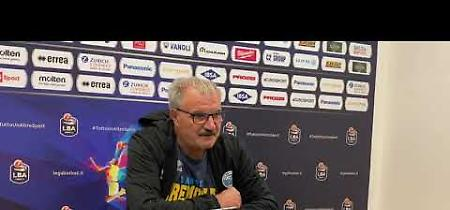VIDEO Vanoli, coach Sacchetti presenta il match con l'Armani Milano