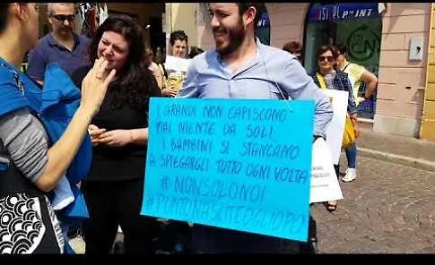 Ospedale Oglio Po, manifestazione per il mantenimento del Punto Nascite