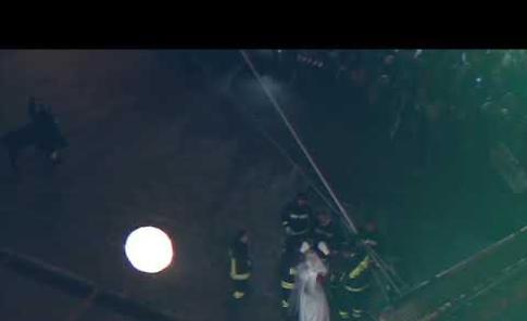 Santa Lucia scende dal campanile