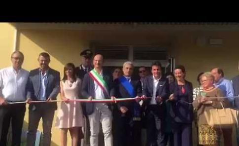 Il video dell'inaugurazione della scuola d'infanzia di Castelvetro