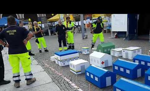 VIDEO - La Protezione civile in 'Io non rischio'