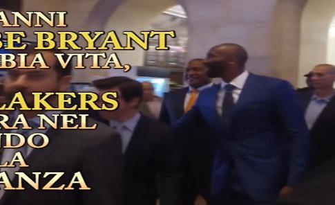 Kobe Bryant si dà alla finanza
