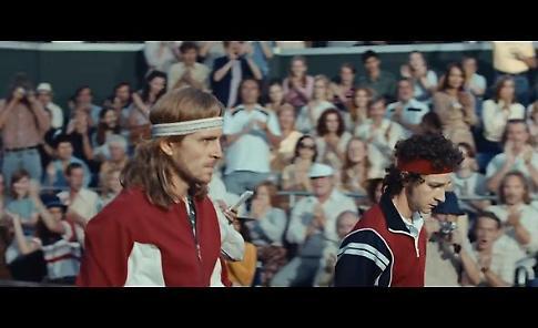 Borg-McEnroe, il duello leggendario diventa un film - il trailer