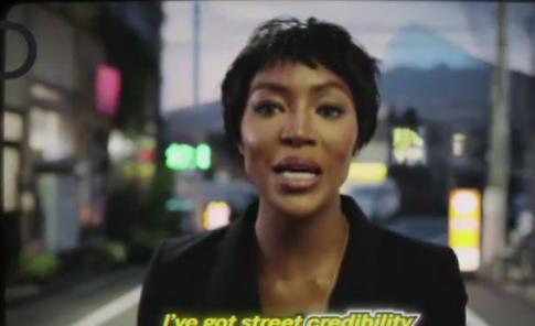 Il ritorno di Naomi Campbell in un video girato a Tokyo
