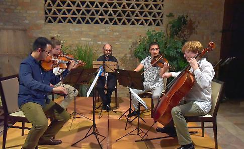 Concerto dell'International Festival a Casa Bonardi