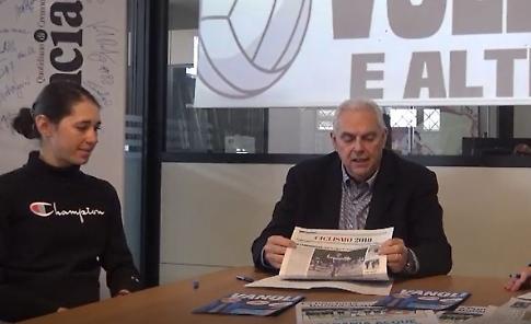 VIDEO Volley E Altro, la puntata di venerdì 22 marzo con Marta Cavalli