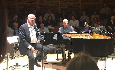 VIDEO Gino Paoli e Danilo Rea al Museo del Violino