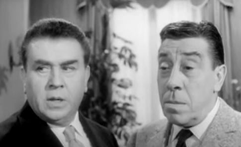 VIDEO Gino Cervi & Fernandel nel  Carosello Vecchia Romagna (1964)